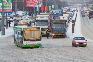 В Москве из-за снегопада могут образоваться девятибалльные пробки