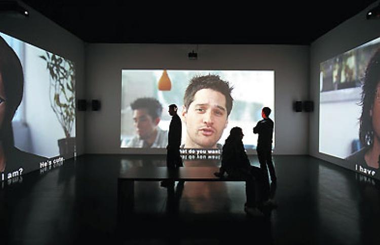 Залы RIGROUP Мультимедийного комплекса актуальных искусств
