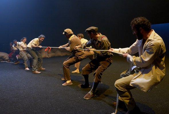 Гастроли Национального драматического центра (Мадрид)  на сцене РАМТ  - Фото №1