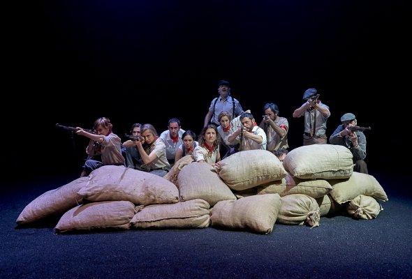 Гастроли Национального драматического центра (Мадрид)  на сцене РАМТ  - Фото №0