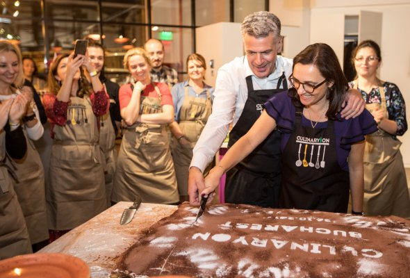 В Европе открылась первая российская кулинарная студия - Фото №0