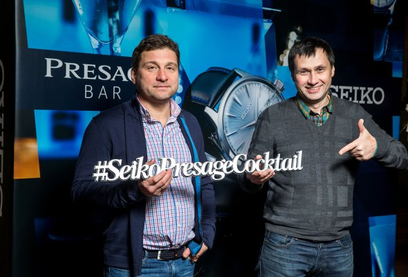 Компания SEIKO представила в Москве свою дизайнерскую коллекцию Presage Cocktail - Фото №5