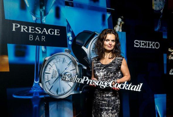 Компания SEIKO представила в Москве свою дизайнерскую коллекцию Presage Cocktail - Фото №4