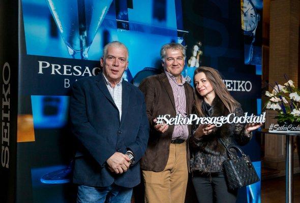 Компания SEIKO представила в Москве свою дизайнерскую коллекцию Presage Cocktail - Фото №3