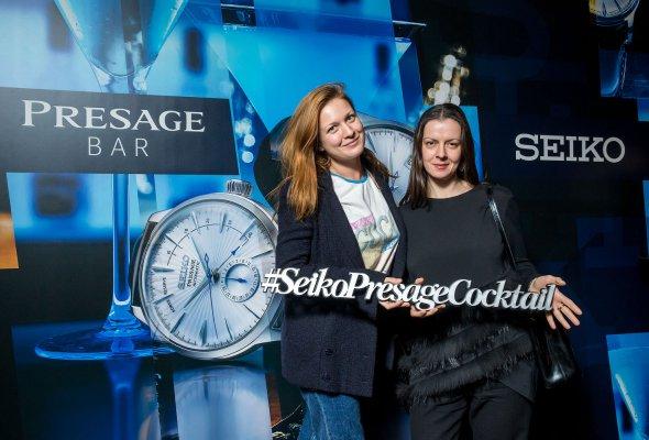 Компания SEIKO представила в Москве свою дизайнерскую коллекцию Presage Cocktail - Фото №2