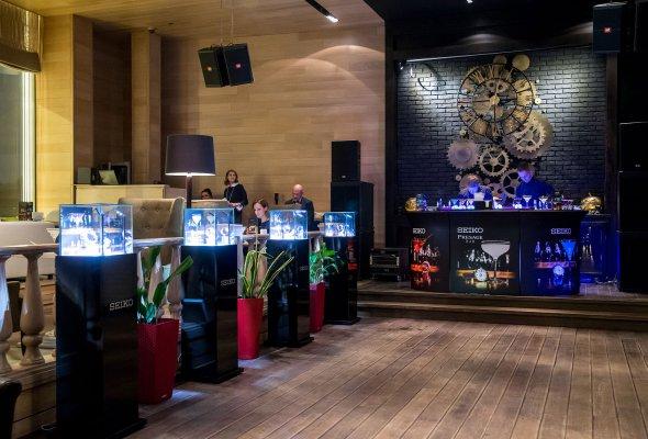 Компания SEIKO представила в Москве свою дизайнерскую коллекцию Presage Cocktail - Фото №1