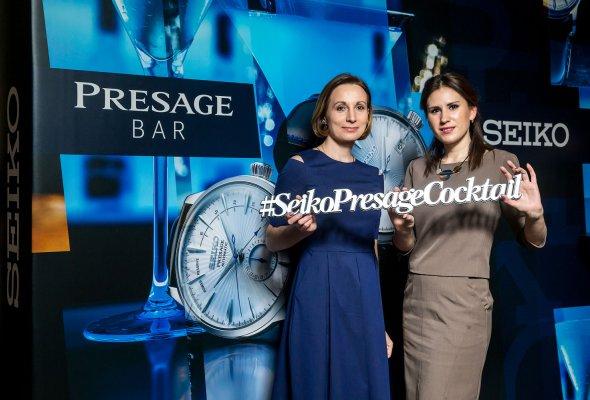 Компания SEIKO представила в Москве свою дизайнерскую коллекцию Presage Cocktail - Фото №0