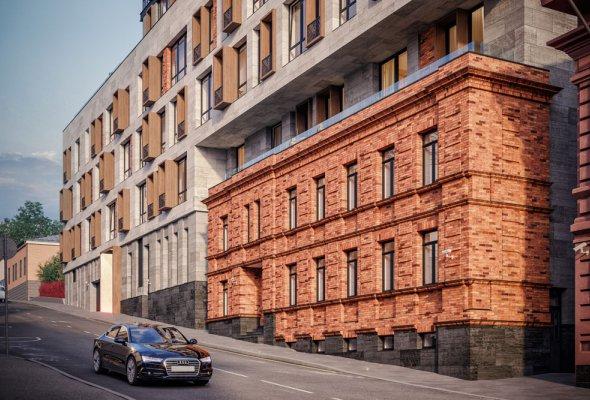 Архитектура городской среды: новый жилой дом клубного формата NV/9 ARTKVARTAL в центре Москвы - Фото №3