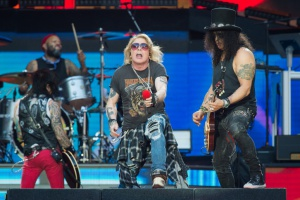 Guns N' Roses дадут в Москве первый концерт за 10 лет