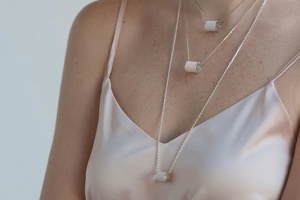 На смену чокеру: минималистичные украшения на цепочке