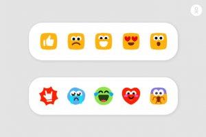 «Одноклассники» введут «Мило», «Ха-ха», «Грущу» и другие реакции к записям