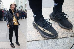 Какие кроссовки носят люди, стоящие в очереди за новыми Yeezy Boost