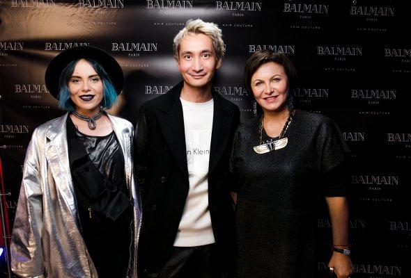 Презентация бренда BALMAIN HAIR  в России «Женщины с волосами HAUTE COUTURE» - Фото №1