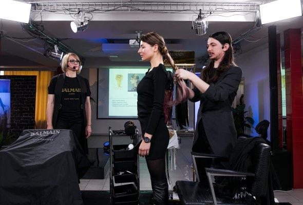 Презентация бренда BALMAIN HAIR  в России «Женщины с волосами HAUTE COUTURE» - Фото №0