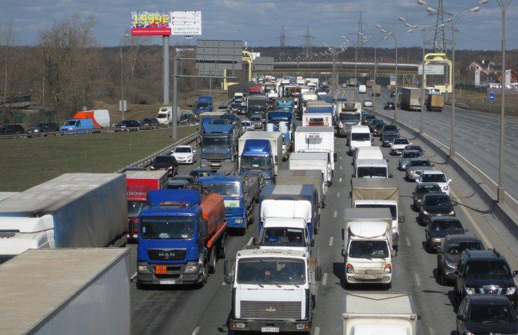 Пробки в центре Москвы достигли максимума за пять лет
