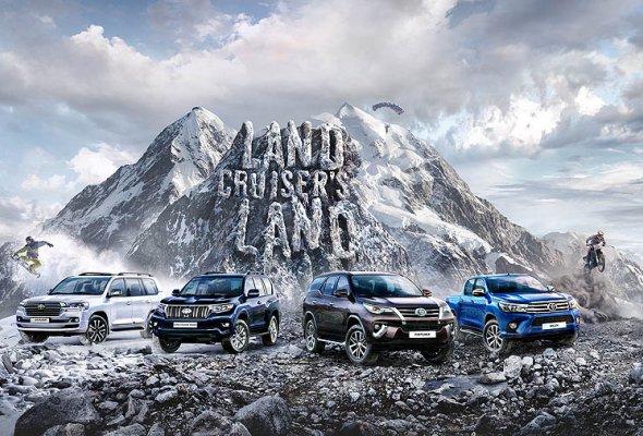 Внедорожный тест-драйв Land Cruiser's Land разворачивается на 60 городов России  - Фото №0