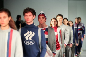 В Москве представили новую форму олимпийской сборной России