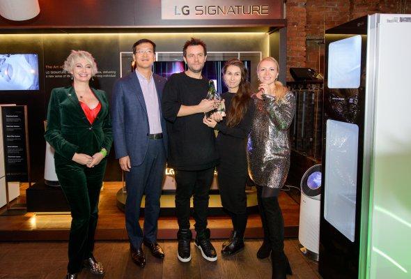 Ультра премиальный бренд LG SIGNATURE наградил победителя номинации «Инновационные технологии в современном интерьере» премии  INTERNI DESIGN AWARDS 2017 - Фото №0
