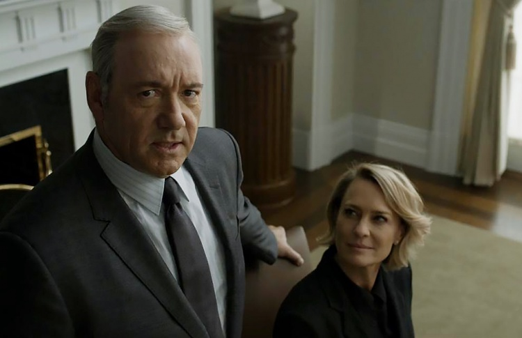 Netflix снимет последний сезон «Карточного домика» без Кевина Спейси