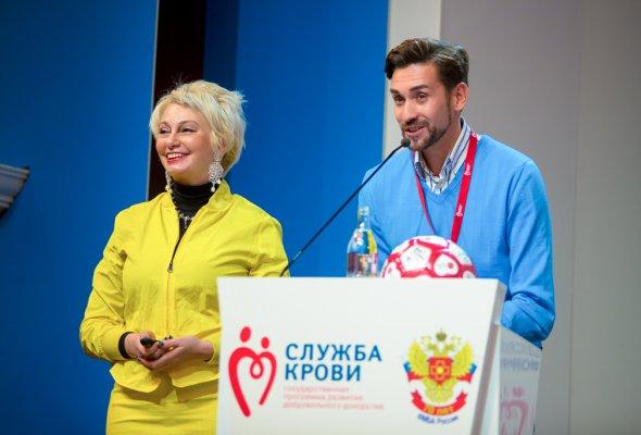 Футбольный марафон #LGПередайПасДобра на X Всероссийском Форуме Службы крови - Фото №0