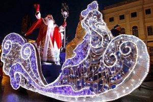 Встречаем Деда Мороза из Великого Устюга