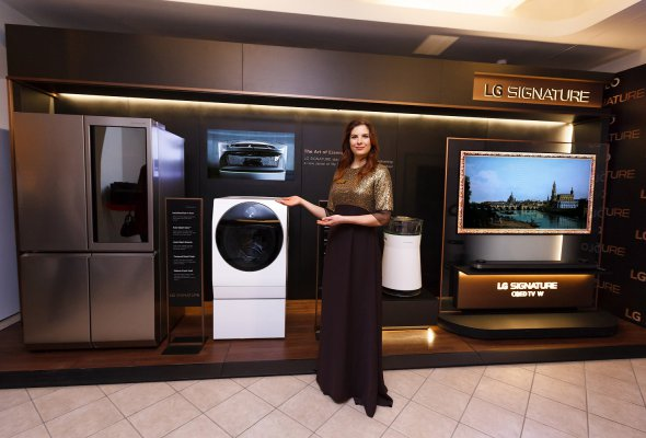 Ультра премиальный бренд LG SIGNATURE выступил партнером единственного мастер-класса Маргариты Королевой в ГУМе - Фото №2