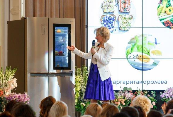 Ультра премиальный бренд LG SIGNATURE выступил партнером единственного мастер-класса Маргариты Королевой в ГУМе - Фото №1