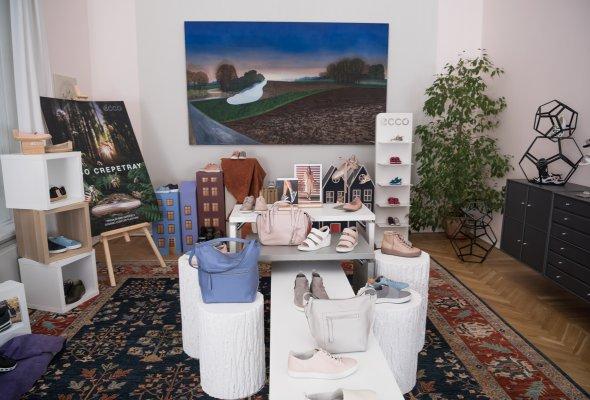 В Москве прошла презентация коллекции весна-лето 2018 датского бренда ЕССО - Фото №9