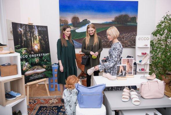 В Москве прошла презентация коллекции весна-лето 2018 датского бренда ЕССО - Фото №2
