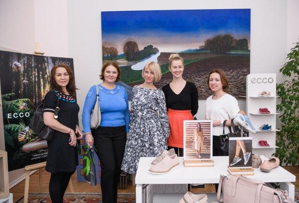 В Москве прошла презентация коллекции весна-лето 2018 датского бренда ЕССО - Фото №1