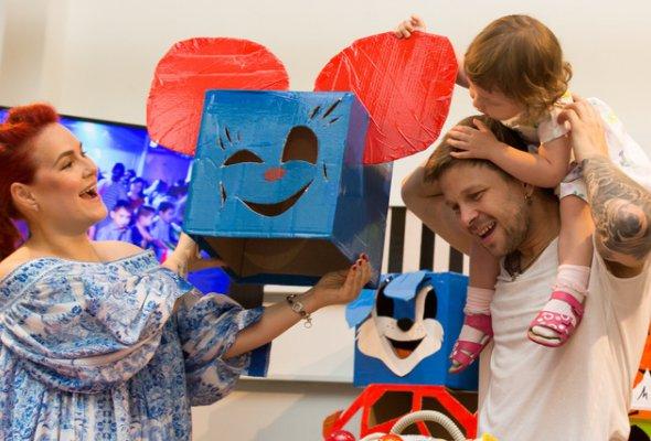 Звезды с детьми на закрытом показе «Титан-шоу» - Фото №13