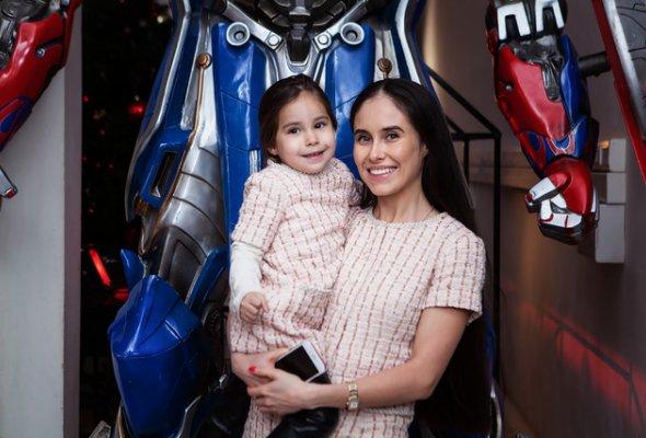 Звезды с детьми на закрытом показе «Титан-шоу» - Фото №6