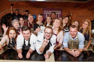 CULINARYON открывает самую большую кулинарную студию в Санкт-Петербурге