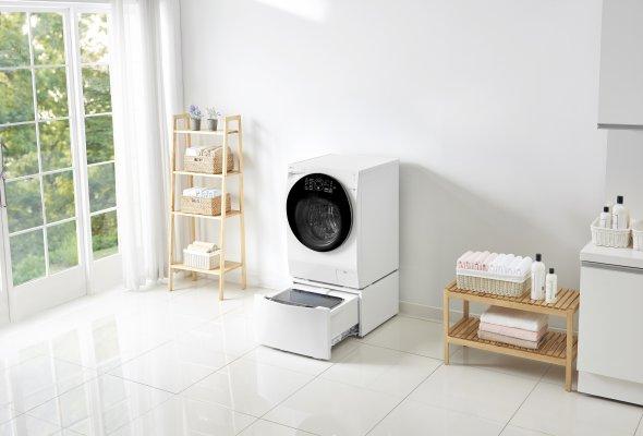 Двойное удобство с новой стиральной машиной                      LG ИЗ категории TWINWash™ - Фото №2