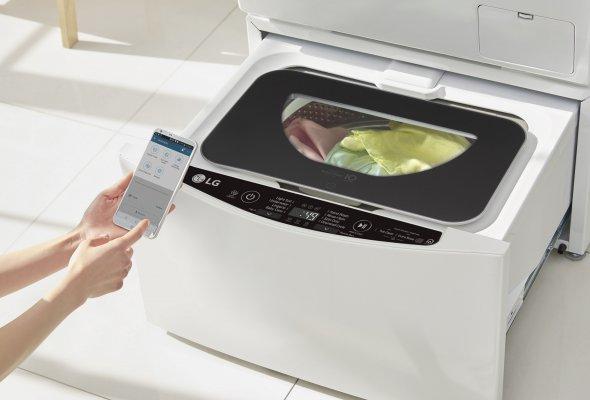 Двойное удобство с новой стиральной машиной                      LG ИЗ категории TWINWash™ - Фото №1