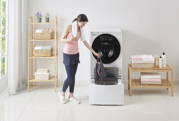 Двойное удобство с новой стиральной машиной                      LG ИЗ категории TWINWash™ - Фото №0