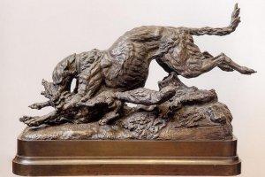 Выставка скульптора-анималиста Артемия Обера. 1843–1917. К 100-летию со дня смерти