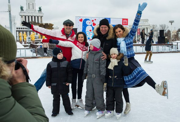 Четвёртый Благотворительный день на катке ВДНХ пройдёт 27 января - Фото №1
