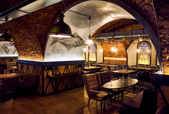 В жилом квартале WINE HOUSE открылся ресторан «Рыба Мечты» - Фото №1