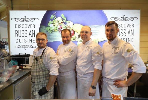 Фестиваль Discover Russian Cuisine на «Зеленой неделе» в Берлине - Фото №0
