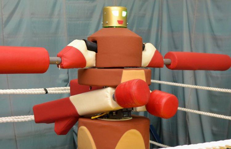 ВДНХ устраивает гладиаторские бои с роботом