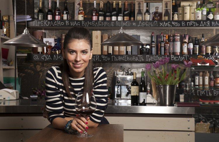 Евгения Качалова, владелица сети винных баров «Винный Базар»