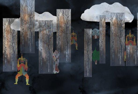 Опера «Сказка про славного царя Гороха и его прекрасных дочерей»  - Фото №1