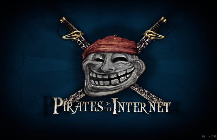В России и США живет максимальное число любителей пиратов