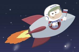 Космическая почта начала свою работу в Кидзании.
