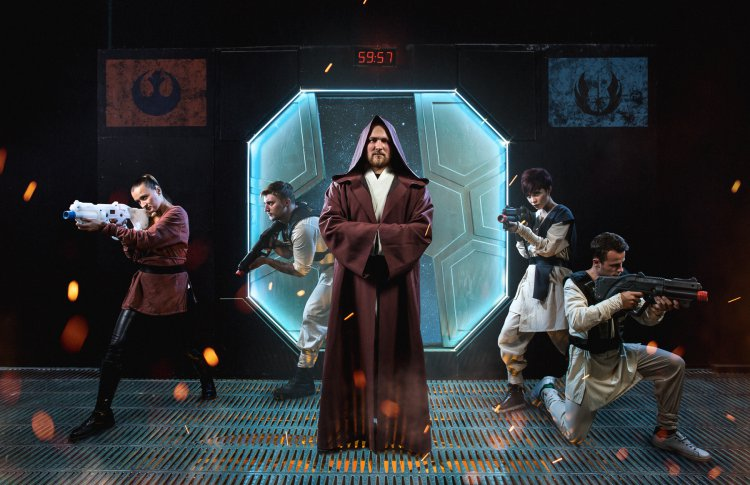Межгалактическая битва в шутер-игре «Звездные войны»