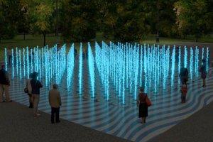 В Лужниках появится пешеходный сухой фонтан