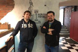 Андрей Голубков и Евгений Мироненко / ресторан «Мясонская ложа»: мы любим мясо