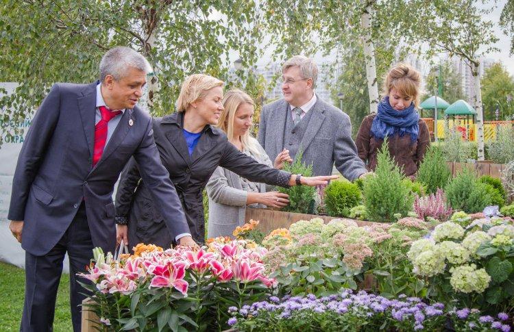 На юго-востоке Москвы откроется тактильный сад