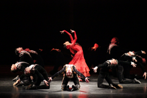Гастроли Государственного академического театра танца Республики Казахстан
